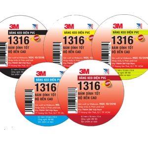 Băng keo điện PVC TEMFLEX 1316