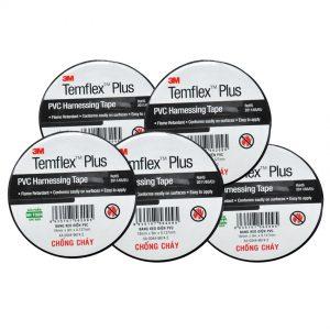 Băng keo điện PVC Temflex Plus 3M