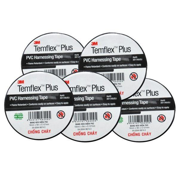 Băng keo điện PVC Temflex Plus 1506