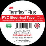 Băng keo điện PVC Temflex Plus 3M 3