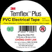 Băng keo điện PVC Temflex Plus 3M 4