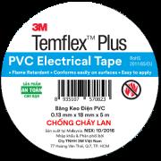 Băng keo điện PVC Temflex Plus 3M 5